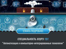Спеціальність 151 Автоматизація та комп'ютерно-інтегровані технології